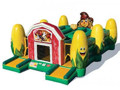 Rent Corn Maze Obstacle Jumper Rental · Orange County, Ca